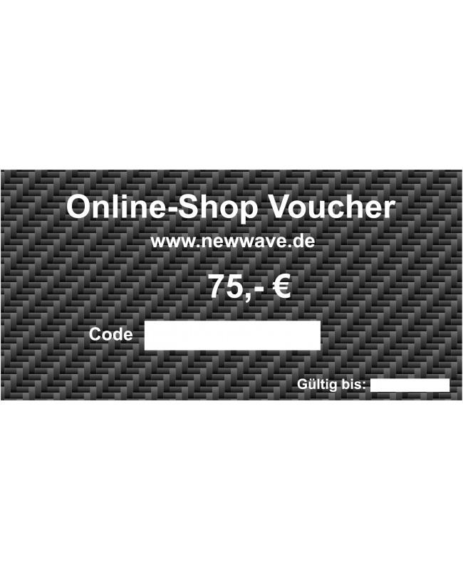75,- € Voucher