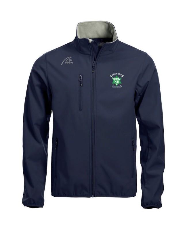 Basic Softshell Jacket - Man without back print