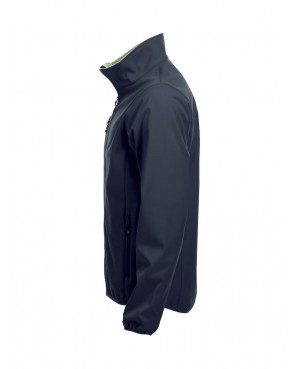 Basic Softshell Jacket - Man with back print