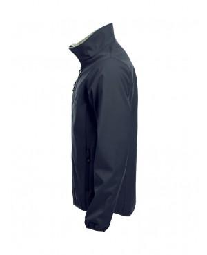 Basic Softshell Jacket - Man mit Rückenaufdruck