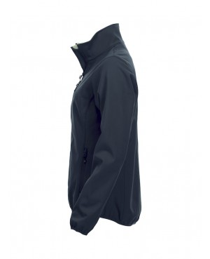 Basic Softshell Jacket - Lady with back print