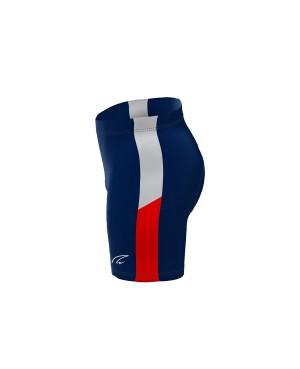Coloured Side Stripe - Short Tights