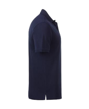 Premium Organic Polo - Man navy