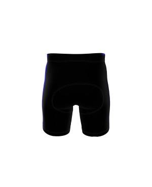 Coloured Side Stripe - Short Tights schwarz/royal