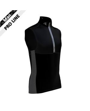 Pro Vest Man - Black & Carbon