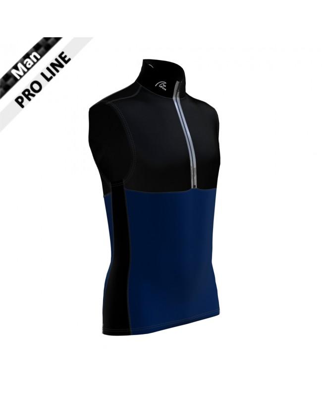 Pro Vest Man - Black & Navy