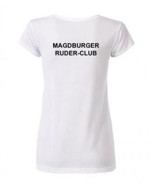 Premium Organic Shirt - Lady weiß