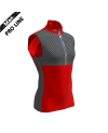 Pro Vest Man - Red/Carbon
