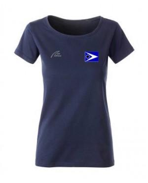 Premium Organic Shirt - Lady marine