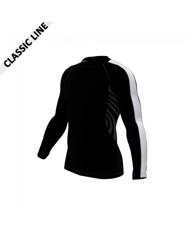 2skin Arm Stripe - Longsleeve Black/White