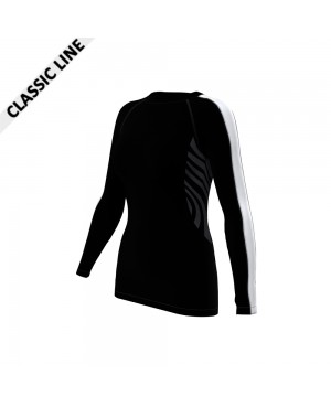 2skin Arm Stripe - Longsleeve Black/White