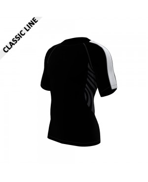 2skin Arm Stripe - Shirt Black/White