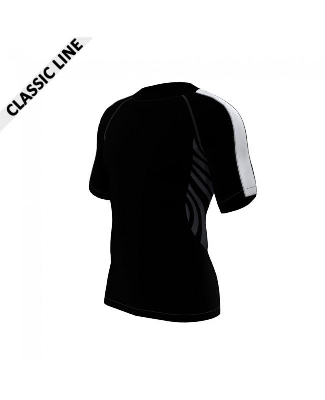 2skin Arm Stripe - Shirt Black/White