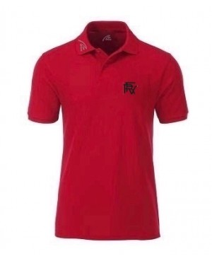 Premium Organic Polo - Man red