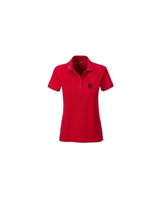 Premium Organic Polo - Lady red