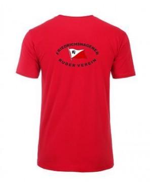 Premium Organic Shirt - Man red