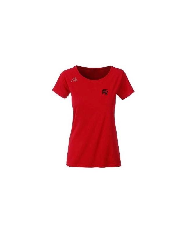 Premium Organic Shirt - Lady red