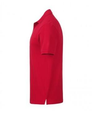 Premium Organic Polo - Man red