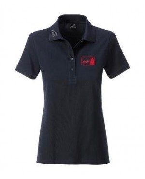 Premium Organic Polo - Lady black