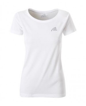 Premium Organic Shirt - Lady white