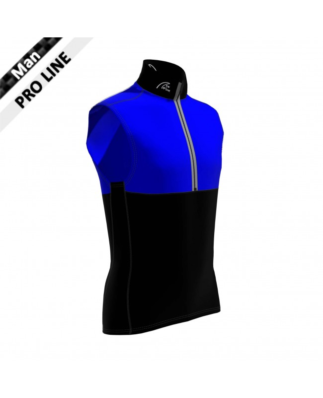 Pro Vest Man - Black & Royal