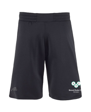 Straight Sport Shorts schwarz