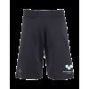 Straight Sport Shorts schwarz