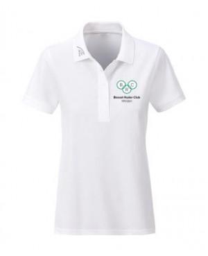 Premium Organic Polo - Lady white