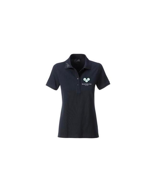 Premium Organic Polo - Lady black