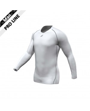 Pro Shirt - Longsleeve white/black