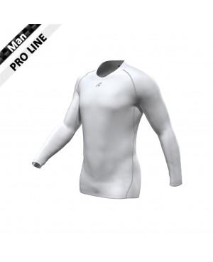 Pro Shirt - Longsleeve white/grey