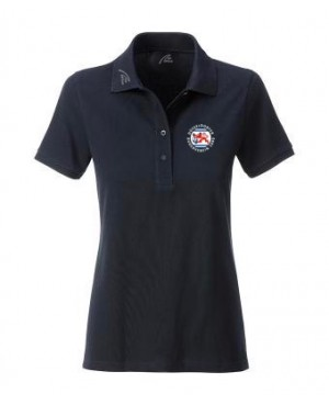 Premium Organic Polo - Lady navy