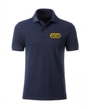 Premium Organic Polo - Man marine