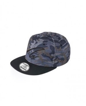 Pro Style Cap - checked camouflage / black