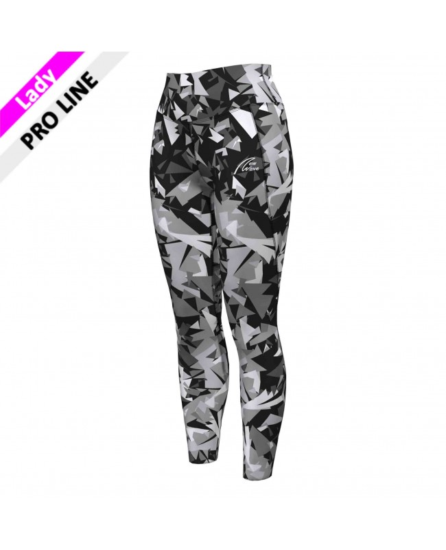High Waist tights - camouflage