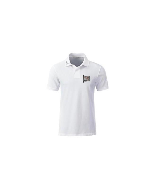 Premium Organic Polo - Man white