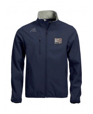 Basic Softshell Jacket - Man marine