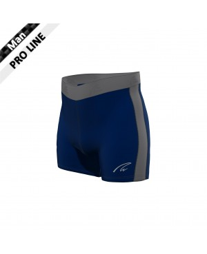 Flex Shorts - Navy & Grey