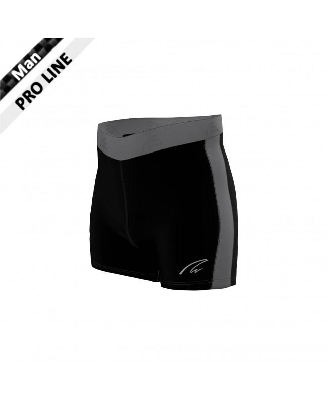 Flex Shorts - Black & Grey