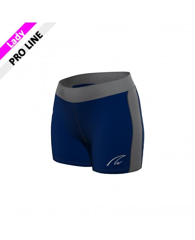 Flex Shorts - Navy & Grey