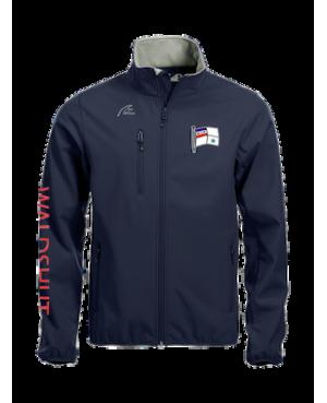 Basic Softshell Jacket - Man marine