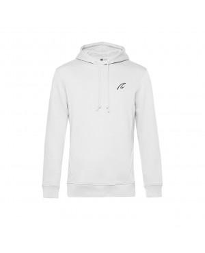 Organic Sport Hoodie Man white - New Wave Sportswear