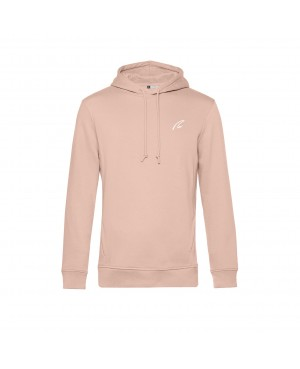 Organic Sport Hoodie Man rose - New Wave Sportswear