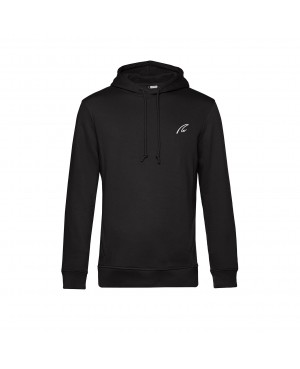Organic Sport Hoodie Man black - New Wave Sportswear