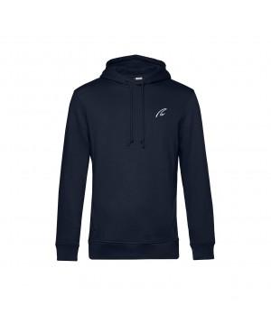 Organic Sport Hoodie Man navy - New Wave Sportswear