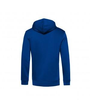 Organic Sport Hoodie Man royal - New Wave Sportswear