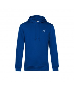 Organic Sport Hoodie Man royal - New Wave Sportswear