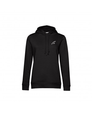 Organic Sport Hoodie Lady black - New Wave Sportswear