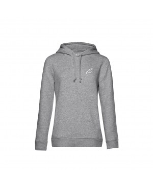 Organic Sport Hoodie Lady grey - New Wave Sportswear