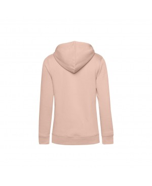 Organic Sport Hoodie Lady rose - New Wave Sportswear